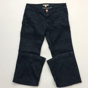 CAbi Women's Size 4 Flared Jeans Dark Wash